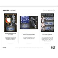 2018 Panini Majestic Football Hobby Box (Sealed)