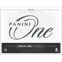 2018 Panini One Football Hobby Box (Sealed)