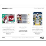 2018 Panini Phoenix Football Hobby 12 Pack Box (Factory Sealed)