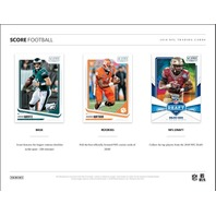 2018 Panini Score Football Jumbo Hobby 10 Pack Box (Factory Sealed)