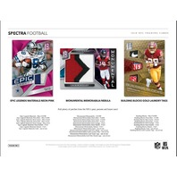 2018 Panini Spectra Football Hobby 4 Card PACK (Sealed)