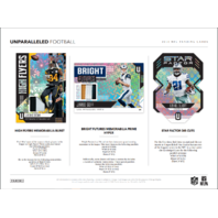 2018 Panini Unparalleled Football 8 Hobby Box Inner Case (Sealed)