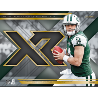2018 Panini XR Football Hobby Box (2 Packs)(Sealed)