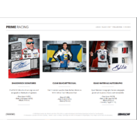 2018 Panini Prime Auto Racing 7 Card Sealed Hobby Box NASCAR