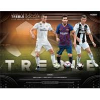 2018-19 Panini Treble Soccer (Futbal) Hobby Box (Sealed)
