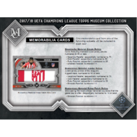 2017/18 Topps UEFA Champions League Museum Collection Soccer 12 Box Case Sealed