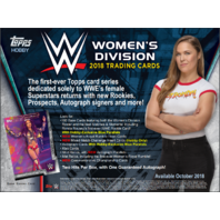2018 Topps WWE Women's Division Wrestling Hobby Box (Factory Sealed)