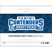 2019/20 Panini Contenders Draft Basketball Hobby 12 Box CASE (Factory Sealed)