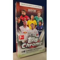 2019-20 Topps Chrome Bundesliga Soccer Hobby Box (Deutsche Fußball Liga)(DFL)