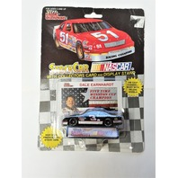 1992 Racing Champions 1:64 #3 Dale Earnhardt/Goodwrench/5-Time Champion Card
