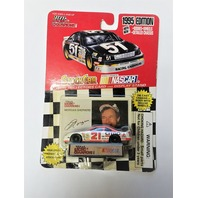1995 Racing Champions 1:64 #21 Morgan Shepherd/Citgo NASCAR Diecast Car