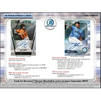 2019 Bowman Chrome Baseball HTA Choice 12 Box CASE (Factory Sealed)