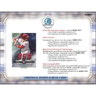 2019 Bowman Chrome Baseball Hobby Master BOX (Factory Sealed)