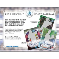 2019 Bowman Draft Picks & Prospects Baseball Super Jumbo 5 Pack BOX (Sealed)(Random)