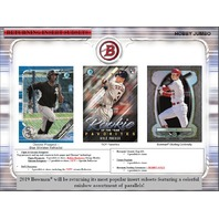 2019 Bowman Baseball HTA Hobby Jumbo 12 Pack BOX (Factory Sealed)(Random)