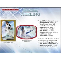 2019 Bowman Sterling Baseball Hobby 12 Box CASE (Factory Sealed)