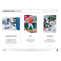 Three(3) 2019 Panini Donruss Diamond Kings Baseball Hobby 8 Card PACK (Sealed)