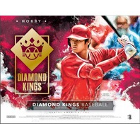 2019 Panini Donruss Diamond Kings Baseball Hobby 24 Box CASE (Factory Sealed)