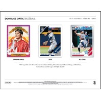 2019 Panini Donruss Optic Baseball Hobby 4 Card PACK (Factory Sealed)(Random)