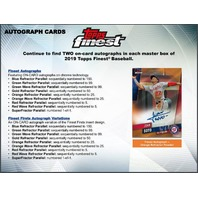 2019 Topps Finest Baseball Hobby 6 Pack MINI BOX (Factory Sealed)(Random)