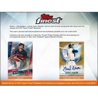 2019 Topps Finest Baseball Hobby Master Box (Factory Sealed)(Random)