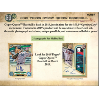 2019 Topps Gypsy Queen Baseball Hobby 10 Box CASE (Factory Sealed)