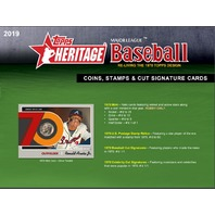 (Three) 2019 Topps Heritage Baseball Hobby 9 Card PACKS (Factory Sealed)(Random)