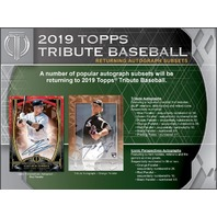 2019 Topps Tribute Baseball Hobby 6 Pack BOX (Factory Sealed)