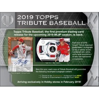 2019 Topps Tribute Baseball Hobby 3 Card PACK (Factory Sealed)(Random)