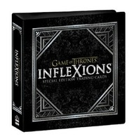 2019 Rittenhouse Game of Thrones Inflexions BINDER w/ P1 Promo Trading Card