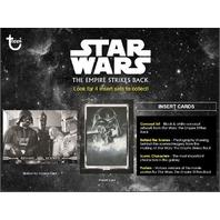 2019 Topps Star Wars The Empire Strikes Back Black & White Sealed Hobby BOX B&W