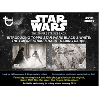 2019 Topps Star Wars The Empire Strikes Back Black & White Sealed Hobby BOX B&W