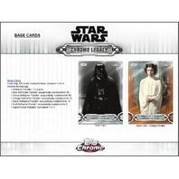 2019 Topps Star Wars Chrome Legacy Hobby Master Box (Sealed)
