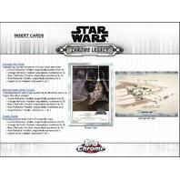 2019 Topps Star Wars Chrome Legacy Hobby 8 Master Box Case (Sealed)