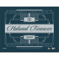 2019 Panini NT National Treasures Collegiate Football Hobby 4 Box CASE (Sealed)