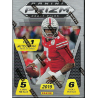 2019 Panini Prizm Collegiate Draft Football 6 Pack Blaster Box (Sealed)