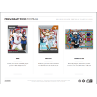 2019 Panini Prizm Collegiate Draft Football Hobby 5 Pack Box (Sealed)