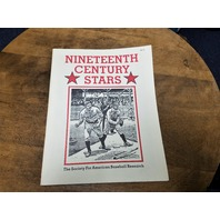"1989 Society for American Baseball Research ""Nineteenth Century Stars"""
