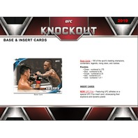 2019 Topps UFC Knockout Hobby 10 Card Pack (Factory Sealed)(2 Hits)