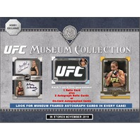 2019 Topps UFC Museum Collection Hobby BOX (Factory Sealed) MMA