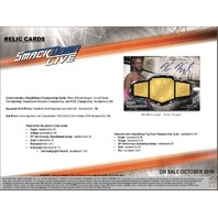 2019 Topps WWE Smackdown Hobby 8 Box CASE(Factory Sealed)
