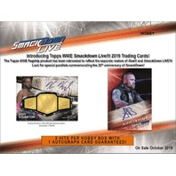 2019 Topps WWE Smackdown Hobby 7 Card PACK (Factory Sealed)(Random)