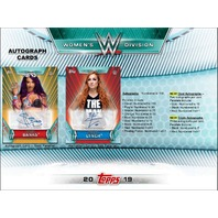 2019 Topps WWE Women's Division Hobby 12 Box CASE(Factory Sealed)