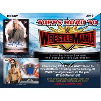 2019 Topps WWE Road To Wrestlemania 24 Pack Hobby Box (Sealed)