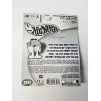 2002 Hot Wheels Racing Sticker 1:64 #36 Ken Schrader/M&M's Vote Purple #2 56798