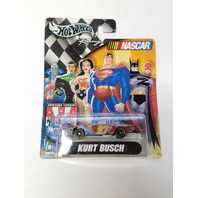 2004 Hot Wheels Racing Justice League 1:64 #97 Kurt Busch/Superman NASCAR