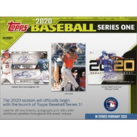 2020 Topps Series 1 Baseball Hobby 12 Box CASE (Factory Sealed)