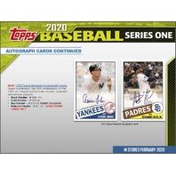 2020 Topps Series 1 Baseball Hobby 14 Card PACK (Factory Sealed)