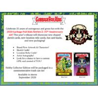 2020 Topps Garbage Pail Kids GPK Series 2 35th Anniversary Hobby 8 Box Case