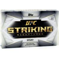 2020 Topps UFC Striking Signatures Hobby BOX 1 Encased Auto (Factory Sealed) MMA